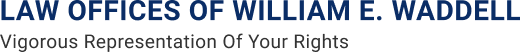 Logo of William E. Waddell Law Firm