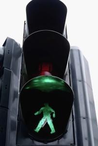 El Segundo Pedestrian Injury Street light dangerous